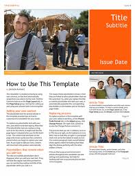 templates for word newsletters newsletter office templates