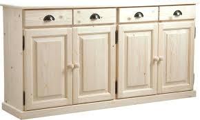ikea porte de placard cuisine buffet 4 portes tiroirs en bois brut meuble cuisine porte ikea