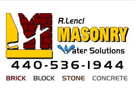 ashtabula masonry lencl masonry basement waterproofing driveways
