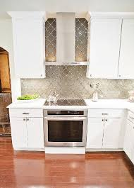 Kitchen Glass Backsplashes The Glass Tile Chosen For The Backsplash Is A Solid Charcoal Glass