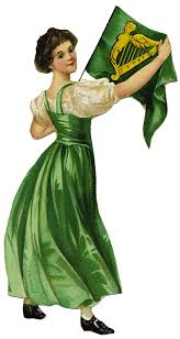 free graphic of the day irish lassie for st patrick u0027s day the