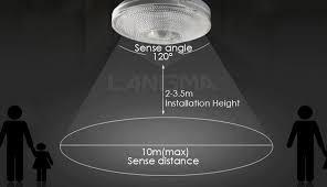 Motion Sensing Ceiling Light Ceiling Mount Motion Sensor Light Jonlou Home