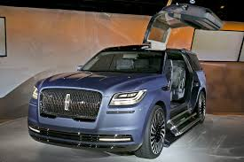 lincoln navigator lincoln navigator concept with gullwing doors stuns auto show