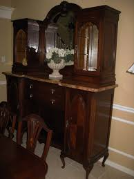 furniture distressed china cabinet buffet and hutch buffet