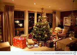 living rooms decorated for christmas 15 christmas decorated living rooms home design lover
