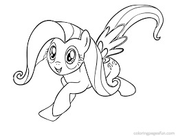 printable 13 my little pony coloring pages fluttershy 3211 free