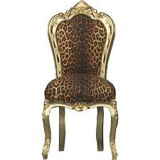 möbel stühle esszimmer casa padrino barock esszimmer stuhl leopard gold möbel stühle