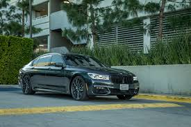all new bmw 7 series adorned with vorsteiner v ff 107 wheels in