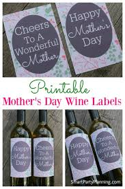 halloween wine bottle labels awesome last minute mother u0027s day gift