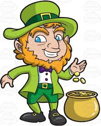a happy leprechaun smokes a pipe pipes and pipe smoking