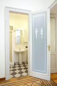 Modern Bathroom Door Frosted Glass Bathroom Doors Amazing Frosted Glass Interior