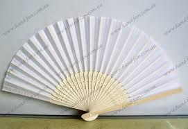 personalized wedding fans white wedding silk fan low price silk wedding fans free postage