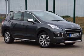 peugeot 2 door car used 2015 peugeot 3008 blue hdi s s active for sale in essex