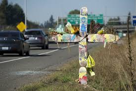 roadside crosses what s up with that state federal govern roadside