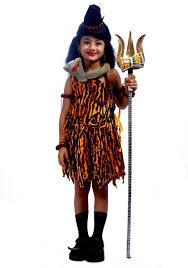 sbd lord shiva god mythological fancy dress costume for kids kids