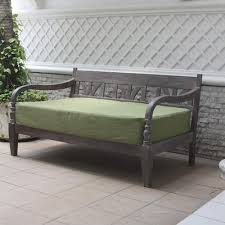 deluxe bench with cushion walmart com