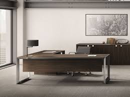 Wood Office Desk L Shaped Office Desks Archiproducts
