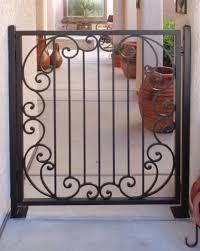 single gates artistic iron works ornamental wrought iron