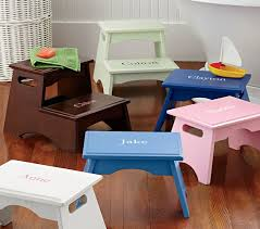 Pottery Barn For Children Personalized Step Stools Pottery Barn Kids