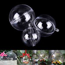 clear plastic ornaments bath bomb molds christmas ornaments 3 size with 15 set clear