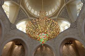 Largest Chandelier The Largest Chandelier In The World Picture Of Sheikh Zayed