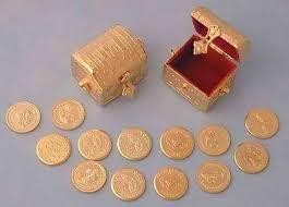 arras de oro las arras en las bodas o la señal para el contrato protocolo y