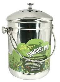 Compost Containers For Kitchen by Kitchen Compost Pail Bin For Countertop Seamless Leakproof