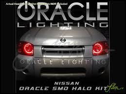 Automotive Led Lights Bulbs by 01 04 Nissan Frontier Led Halo Rings Head Fog Lights Bulbs
