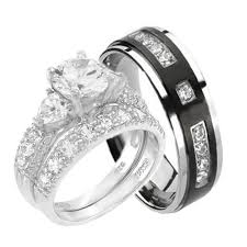 his and hers engagement rings cheap wedding sets kingswayjewelry