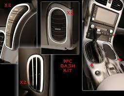 custom c3 corvette dash car craft corvette dash kit 9pc 2005 2013 c6