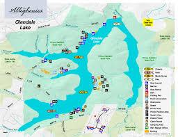 Pennsylvania lakes images Glendale lake the alleghenies jpg
