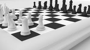 Chess Table Chess Board 3d Asset Cgtrader