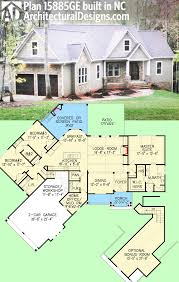 Two Story Craftsman House Plan 15885ge Affordable Gable Roofed Ranch Home Plan Craftsman