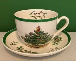 spode tree china cup and saucer made in