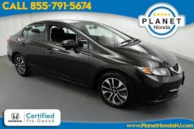 used certified one owner 2014 honda civic ex union nj planet