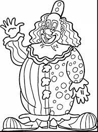 wonderful clown coloring pages dokardokarz net