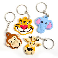 key rings designs images Zoo animals keyring keyrings novelty toys jpg