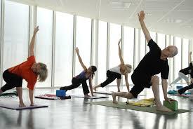 yoga at the beach house