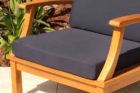 sale sunbrella 60in bench cushion oceanic teak furniture