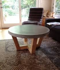 Round Concrete Patio Table Round Concrete Top Coffee Table Inspiration For Sunroom Diy