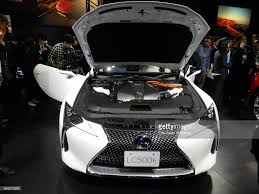 lexus used car japan lexus lc500 on sale in japan photos and images getty images