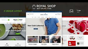 royal shop opencart responsive theme themeforest website