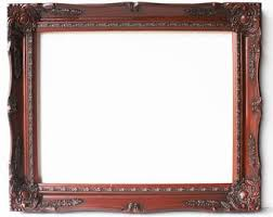 ornate picture frame etsy