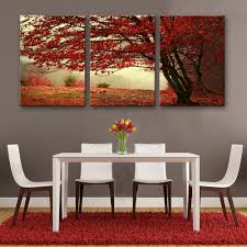 Home Decoration Painting by Online Get Cheap Oil Painting Tree Red Aliexpress Com Alibaba Group