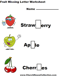 church house collection blog kindergarten printable fruit missing