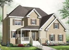 traditional house house plan w3461 v1 detail from drummondhouseplans com