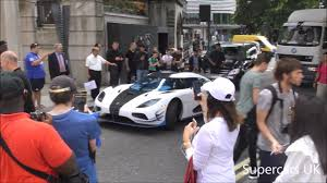 koenigsegg agera rs1 1 of 1 koenigsegg agera rs1 arrives in central london youtube