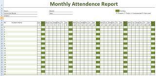 Attendance Sheet Template Excel Employee Attendance Calendar 2017 Attendance Tracker Templates