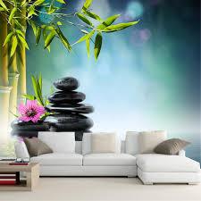 online shop custom 3d large murals wallpaper stones bambusoideae
