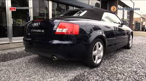 audi a4 b6 convertible buying advice youtube